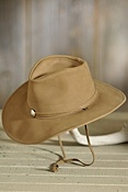 Weekend Walker Cowhide Leather Hat
