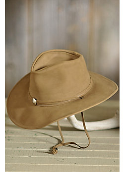 Weekend Walker Leather Hat