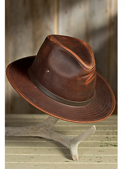 Outback Leather Safari Hat