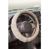 Sheepskin Steering Wheel Cover, Pearl Western & Country