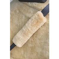 Sheepskin Seat Belt Cover, Gobi Tan Western & Country