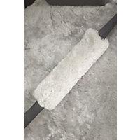Sheepskin Seat Belt Cover, Light Silver Western & Country