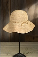 Women's Crushable Raffia Sun Hat