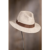 Avery Wool Felt Fedora Hat