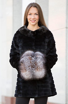 Canadian Fox Fur Hand Muff II