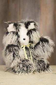 Mongolian Lamb Fur Teddy Bear