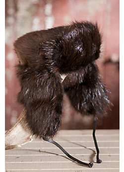 Russian-Style Beaver Fur Aviator Hat