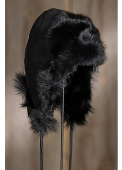 Women's Shearling Sheepskin Hat with Toscana Trim
