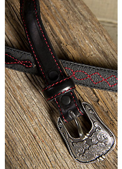 Women's Little Bitty Leather Belt