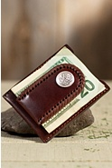 El Charro Leather Money Clip