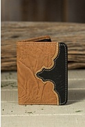 Travis Bifold Wrinkled Leather Wallet