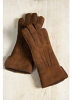 Women's Sheepskin Gloves with Vent