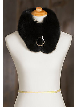 Women's Canadian Fox Fur Collar