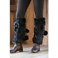 Women's Rabbit Fur Boot Toppers Western & Country
