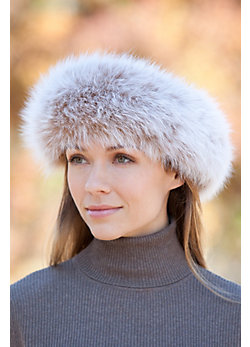 Arctic Fox Fur Headband