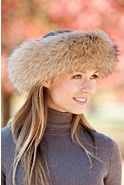 Women's Finn Raccoon Fur Headband