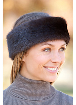 Women's Mink Fur Headband