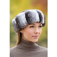 Women's Chinchilla Fur Headband Western & Country