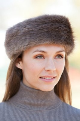 Long-Haired Beaver Fur Headband