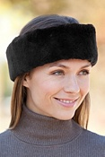 Women's Sheared Beaver Fur Headband