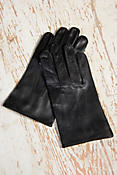 Men's Dents Lambskin Leather Dome Gloves