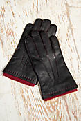 Men's Dents Lambskin Leather Gloves with Cashmere Lining