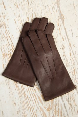 Men's Dents Deerskin Leather Gloves with Cashmere Lining