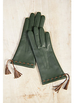 Women's Dents Classic Cashmere-Lined Leather Gloves
