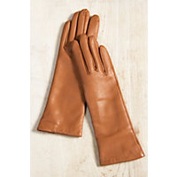 VictorianInspiredWomensClothing Womens Dents Danesfield Cashmere-Lined Leather Gloves COGNAC Size 7 $199.00 AT vintagedancer.com