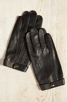Men's Dents Fleming James Bond Spectre Leather Driving Gloves