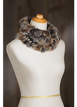 Women's Rabbit Fur Neck Warmer II