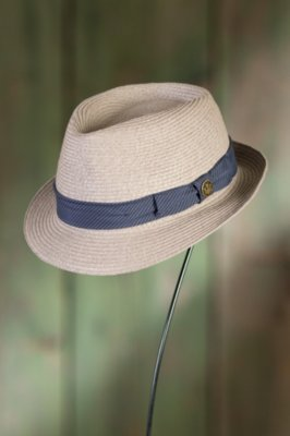 Beach Day Goorin Brothers Straw Fedora Hat