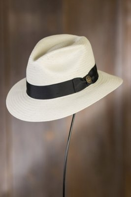 God Father Goorin Brothers Straw Fedora Hat