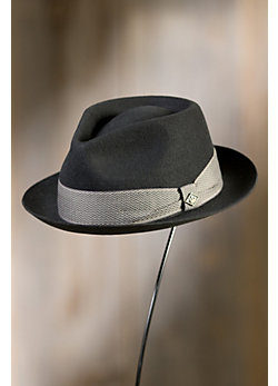Goorin Bros. Griffin Tear Drop Wool Fedora Hat