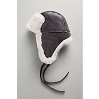 B 3 Sheepskin Aviator Hat