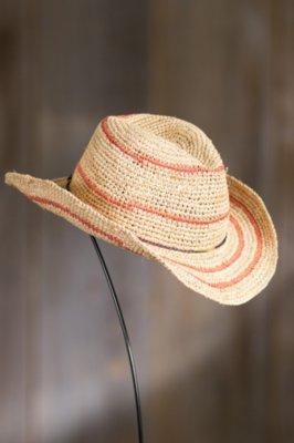 Jesup Crocheted Shapeable Raffia Hat