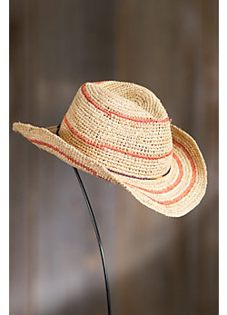 Jesup Crocheted Shapeable Raffia Hat