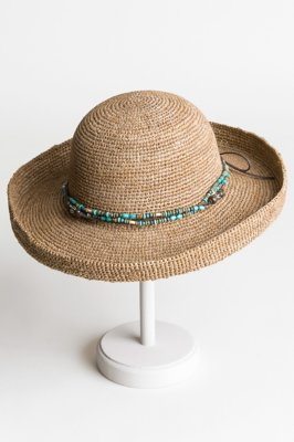 Gilchrist Crocheted Shapeable Raffia Hat