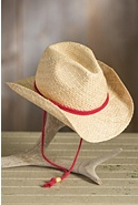 Children's Raffia Western Hat