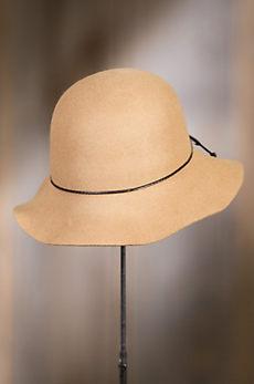 Nightingale Wool Felt Floppy Cloche Hat