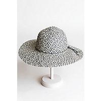 Charmed Toyo Straw Floppy Hat