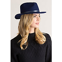 Brooklyn Wool Felt Fedora Hat