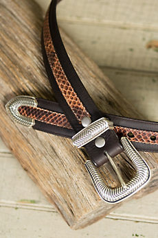 Overland Walker Bison Leather Belt