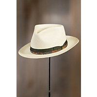 Men's Vintage Style Hats Stetson Shantung Gus Straw Hat NATURAL Size 7 $139.00 AT vintagedancer.com