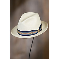 Biltmore D.J. Straw Panama Hat, BLEACHED, Size 7