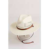 Stetson Airway Panama Straw Hat NATURAL Size LARGE 7 1 4  7 3 8