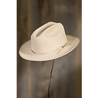 Stetson Royal Open Road Felt Hat SILVER BELLY Size 7 34 $199.00 AT vintagedancer.com