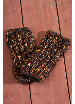 Women's Rock 'n Roll Wool-Blend Fingerless Gloves