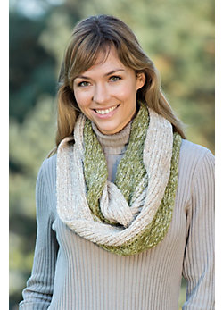 Women's Alpaca and Wool-Blend Infinity Scarf