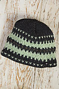 Mo-Zag Merino Wool Beanie Hat